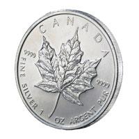 1oz Silver Maple Coin