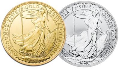 Gold & Silver Britannia Coins