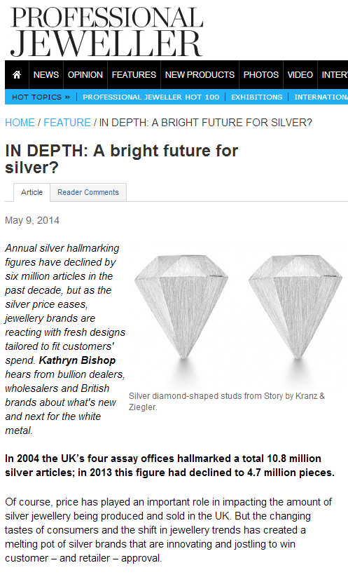 A bright future for silver?